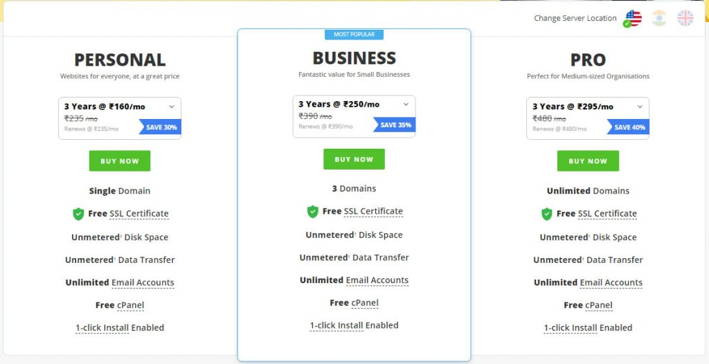 Reselleclub review: Shared hosting plan